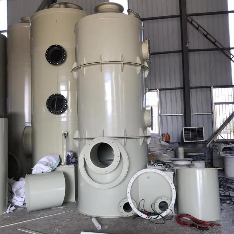 聚丙烯水喷淋塔,PP酸碱废气塔厂家-- 太仓市吉利防腐化工设备有限公司