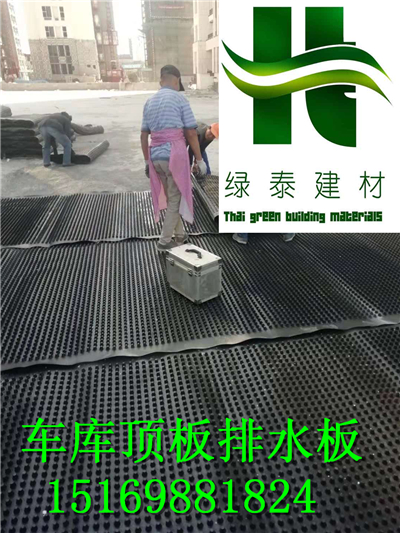 屋顶绿化车库排水板芜湖保定【20高蓄排水板】-- 泰安市泽瑞土工材料有限公司