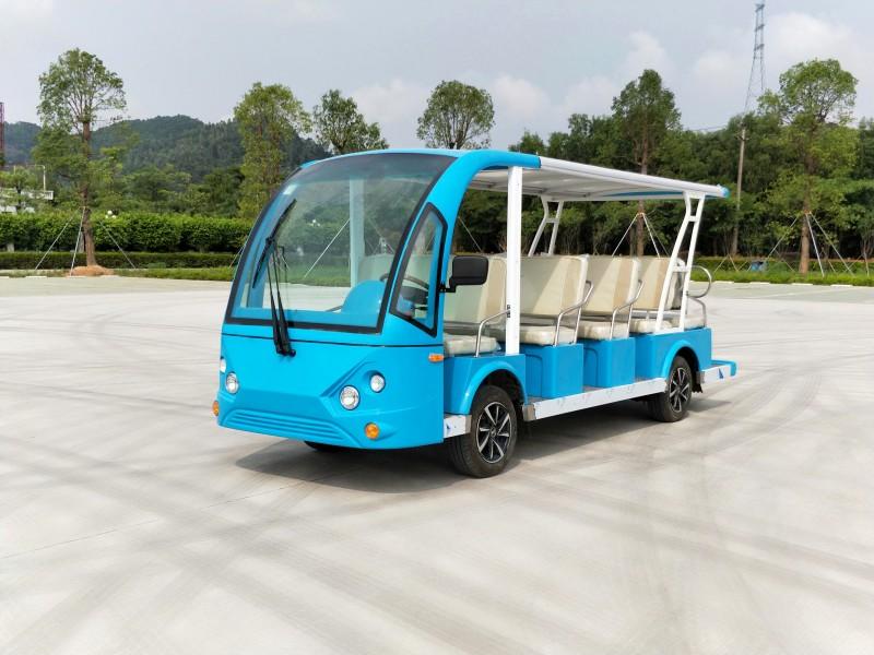 14座电动观光车,九寨沟景区游览车,14座旅游车-- 渭南克里斯特商贸有限公司