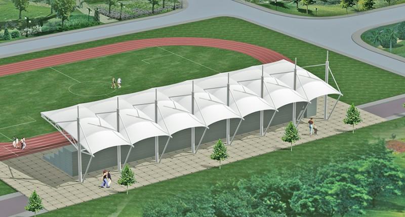 湖北地市级膜结构设计施工-- 湖北玖晟建设有限公司