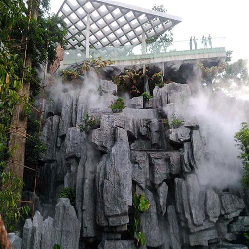 游乐园假山水池雾喷冷雾系统长期合作厂家-- 深圳市通宝环境技术有限公司
