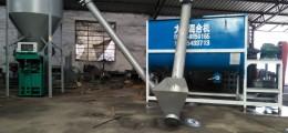 金富民商标5000型腻子粉砂浆混合机灌装自动化