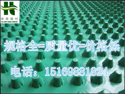 百色20高成卷车库排水板厂家—行情动态15169881824-- 泰安市绿泰蓄排水板厂家