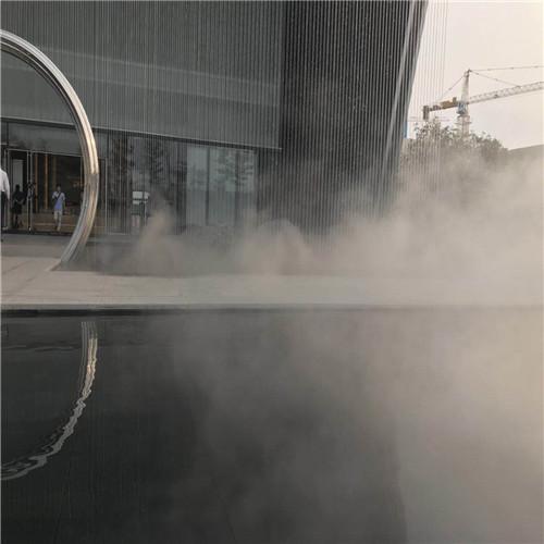 园林景观喷雾设备人工造雾工程-- 深圳市通宝环境技术有限公司