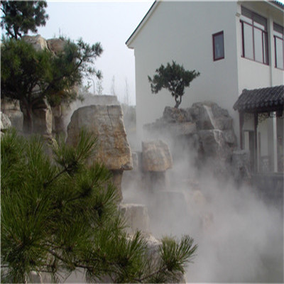 农家乐民宿度假村冷雾人造雾设备系统工程-- 深圳市通宝环境技术有限公司
