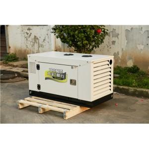 双缸10千瓦静音柴油发电机水冷