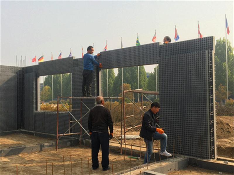 建房用SW钢网夹芯板,建筑不拆保温不坏,结构保温同寿命-- 北京华美科博科技有限公司