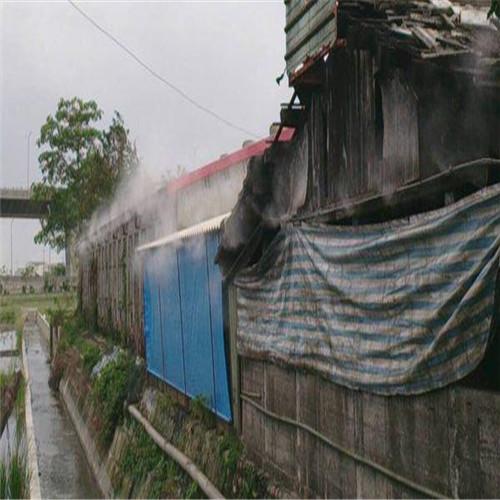 清远小区室内垃圾厂房喷淋除臭设备-- 深圳通宝环境技术有限公司