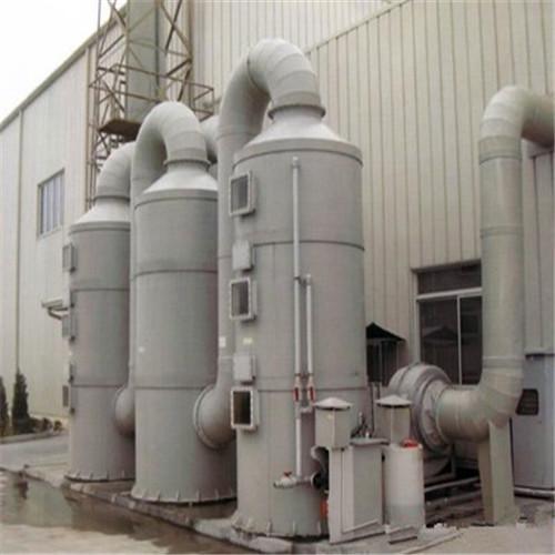 化工厂废水废气净化设备,喷淋除臭塔-- 深圳通宝环境技术有限公司