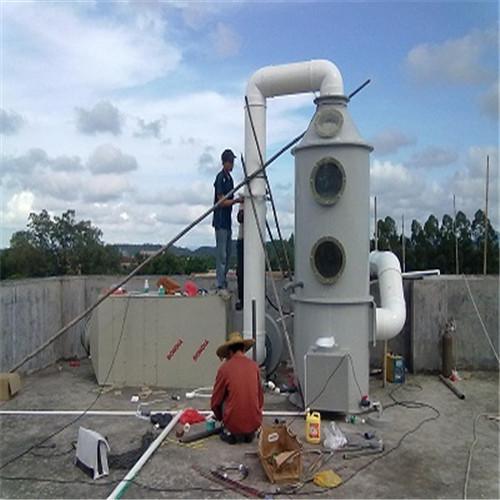 屠宰场车间废水废气植物液喷淋除臭塔-- 深圳通宝环境技术有限公司