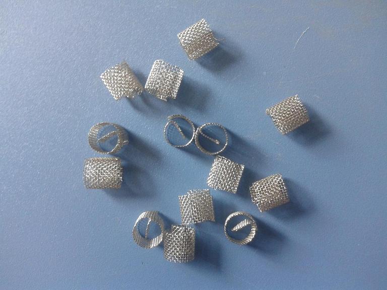 不锈钢θ网环填料-- 宁波天弛橡塑制品有限公司