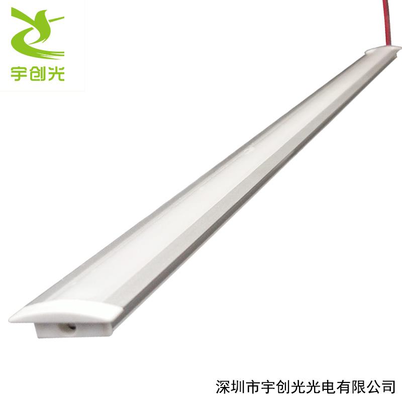 LED超薄层板橱柜灯2公分嵌入式带边开槽2835灯带-- 深圳市宇创光光电有限公司