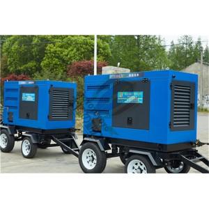 三相无刷400A自发电柴油焊机氩弧焊机