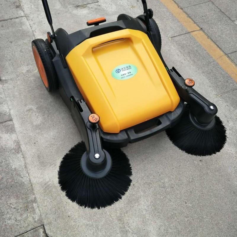 手推无动力扫地机无线环卫清扫机-- 山东美卓工程机械有限公司