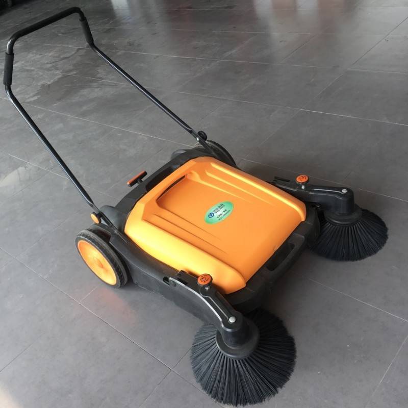 无线环保手推扫地机无动力地面清扫机-- 山东美卓工程机械有限公司