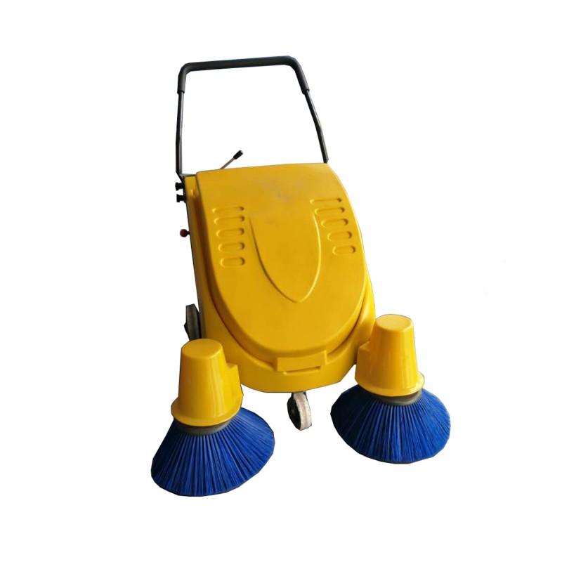手推电动扫地机无线电动垃圾清扫机-- 山东美卓工程机械有限公司