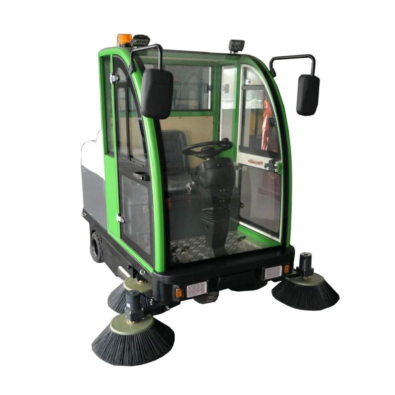 全封闭电动扫地车2000大型工业专用地面清扫车-- 山东美卓工程机械有限公司