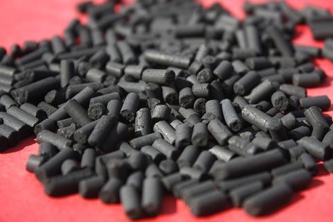 柱状活性炭 吉林废气处理柱状活性炭多少钱一吨