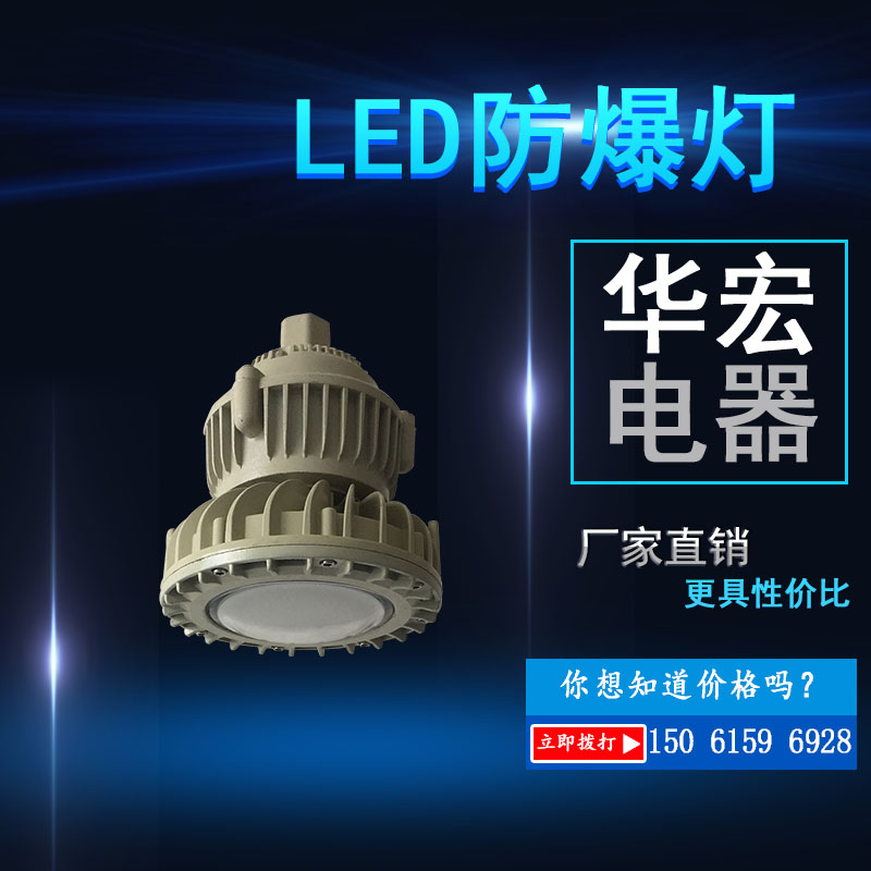 BAD808-M LED防爆灯20W30W40W50W防爆-- 宜兴市华宏电器制造有限公司销售部