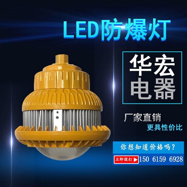 BAD810LED防爆灯冷锻型LED防爆工矿灯100W-- 宜兴市华宏电器制造有限公司销售部