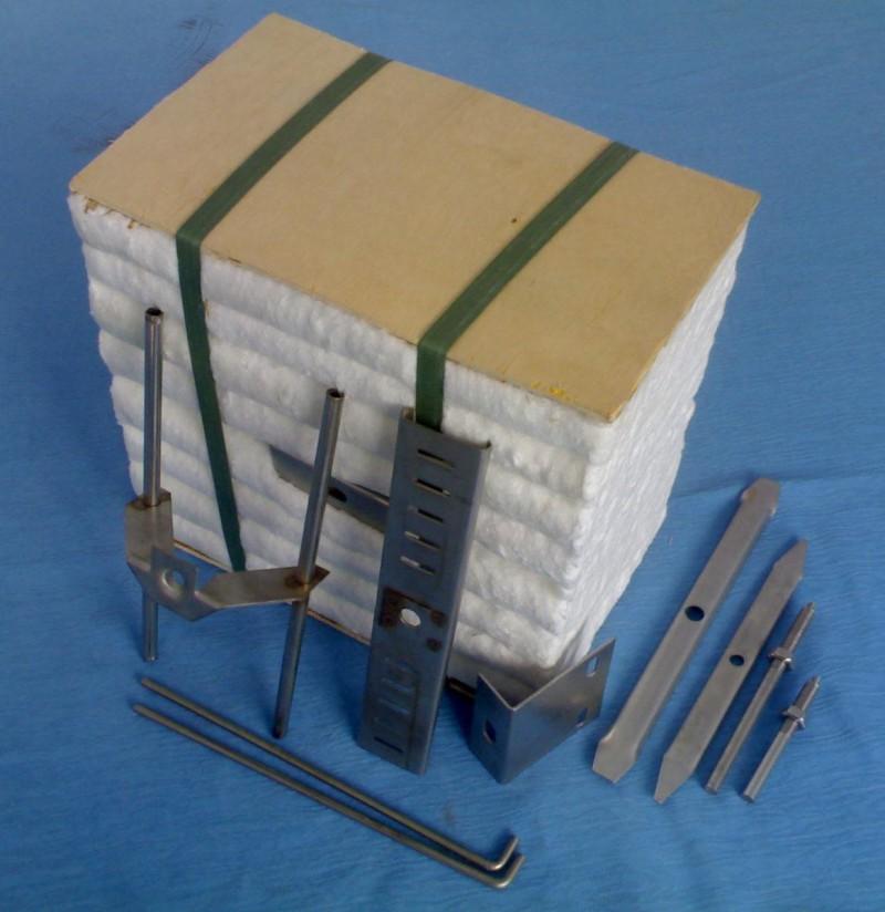 固体蓄热电锅炉保温用陶瓷纤维模块 硅酸铝纤维折叠块-- 邹平金石节能科技有限公司