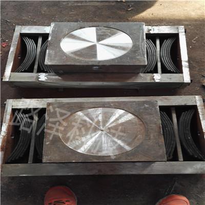 弹性铰支座厂家 双向弹性铰支座 TLQZ型铰支座定做-- 河北路泽新材料科技有限公司