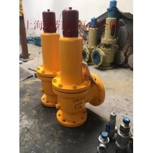 A42F46-25弹簧氯气安全阀-盐城化工盐酸硝酸阀门
