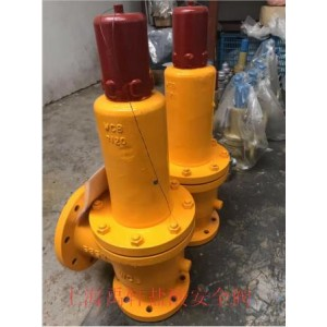 上海禹轩WA42F46-25C-DN80波纹管液氯专用安全阀