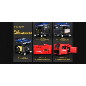 大泽动力柴油发电电焊机