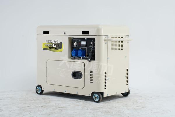 静音无刷15kw小型柴油发电机组-- 上海豹罗实业有限公司