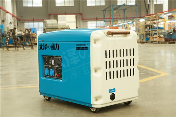 电启动静音6kw无刷柴油发电机组厂家-- 上海豹罗实业有限公司