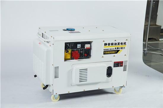 大泽10kw双缸静音柴油发电机组-- 上海豹罗实业有限公司