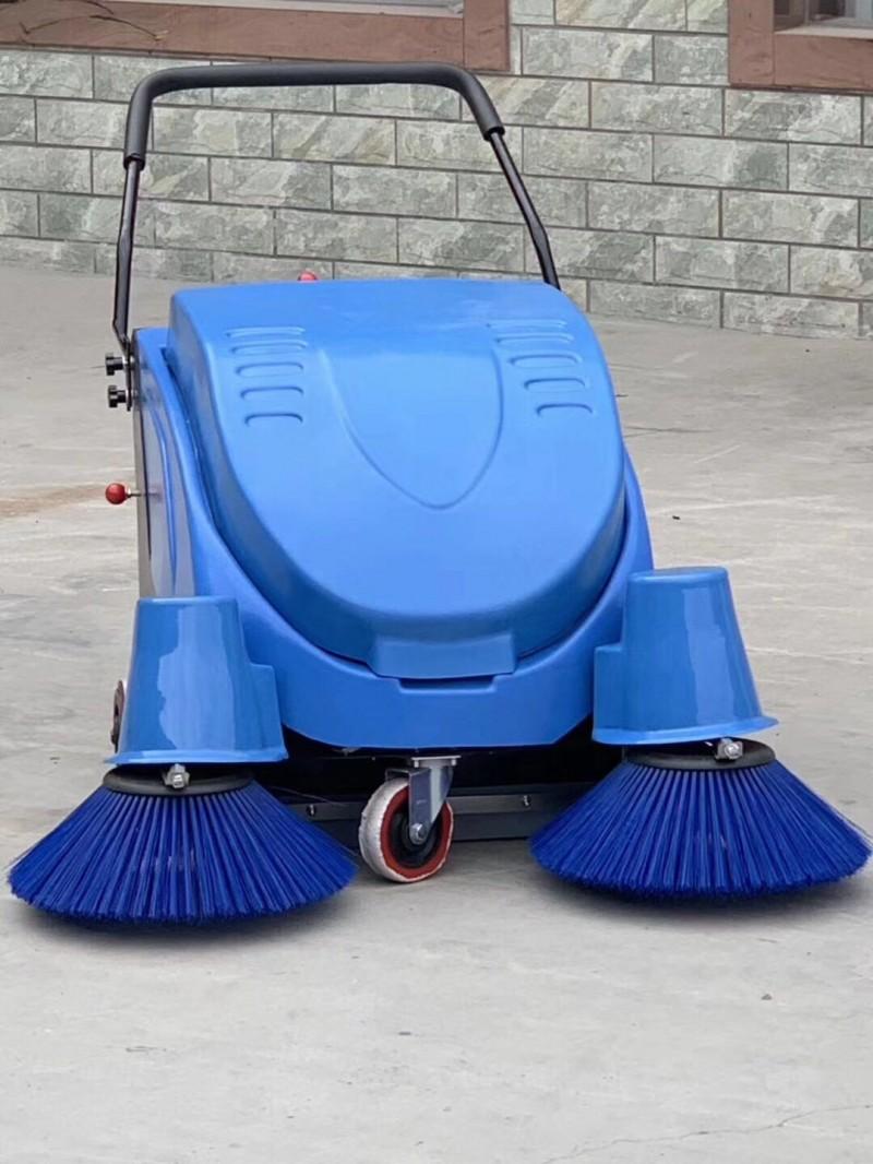 手推电动扫地机自走式车间公园垃圾清扫车买一送一-- 山东瑞立环保科技有限公司