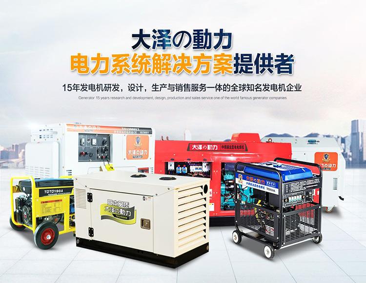 大泽动力柴油发电机-- 上海大泽动力实业有限公司