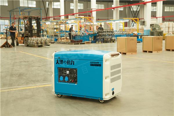 大泽7kw柴油车载发电机组的特点-- 上海豹罗实业有限公司
