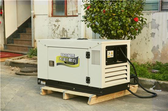四缸水冷15kw静音柴油发电机组型号-- 上海豹罗实业有限公司
