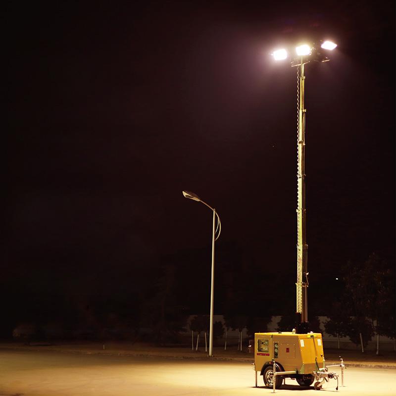 HMF968C厂家直销应急移动全方位自动升降照明车-- 宜兴市华宏电器制造有限公司销售部