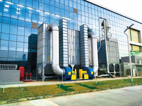 脉冲布袋除尘器丨广东环保设备厂丨环保达标-- 东莞市健强环保机械设备有限公司