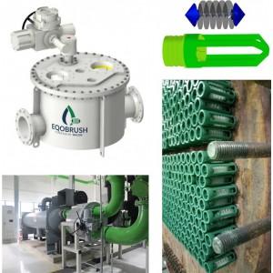 广州伟控EQB商场中央空调冷水机组在线清洗