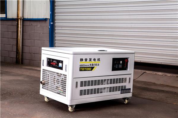 三相静音15千瓦无刷汽油发电机大泽动力-- 上海豹罗实业有限公司