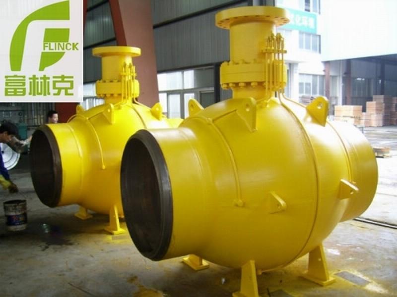 燃气管道 全通径全焊接球阀-- 富林克泵阀制造(上海)有限公司