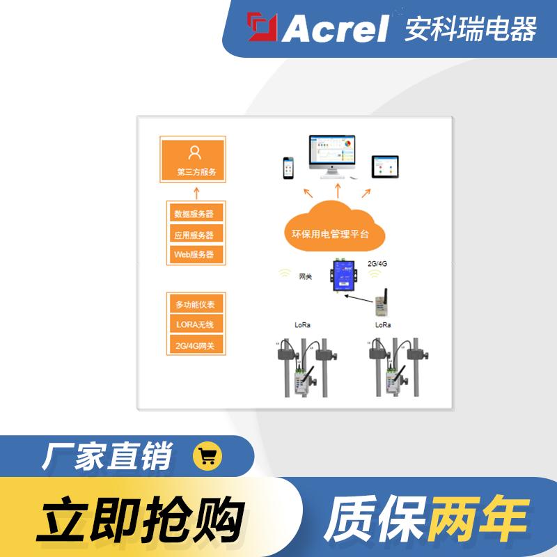 湖南衡阳市治污设备实时用电监控方案-- 上海安科瑞新能源科技有限公司