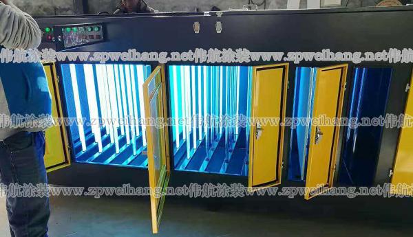 山东环保设备光氧催化设备废气处理吸尘柜移动伸缩房烤漆房-- 邹平伟航涂装设备有限公司