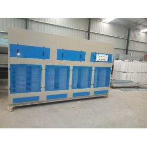 山东中央除尘环保设备废气处理净化设备移动伸缩房可加工定制厂家