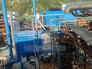 陕西采石场破碎生产线布袋除尘器-- 泊头市若雨环保设备有限公司