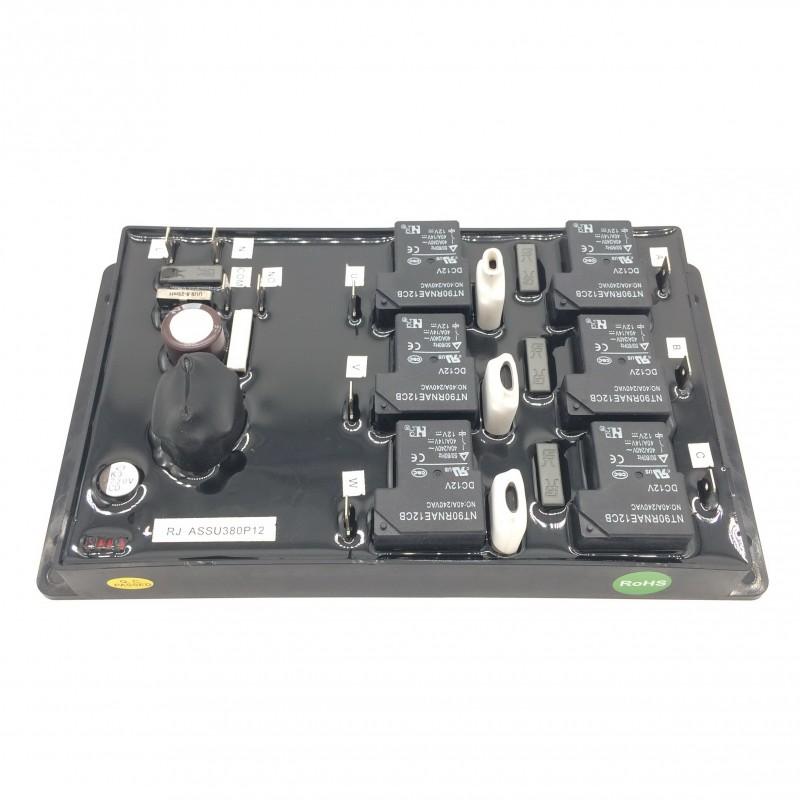 三相380V12P软启动 三相空调软起动完全不用交流接触器-- 珠海瑞景电子科技有限公司
