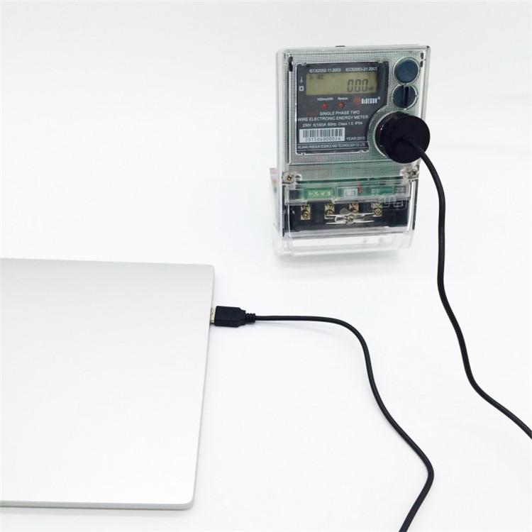 USB接口 IEC1107规约 电表吸附式光电头 近红外抄表-- 珠海瑞景电子科技有限公司
