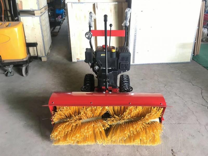 冬季除雪神器15马力双轮款扫雪机隆鑫汽油机-- 山东豪沃工程机械有限公司