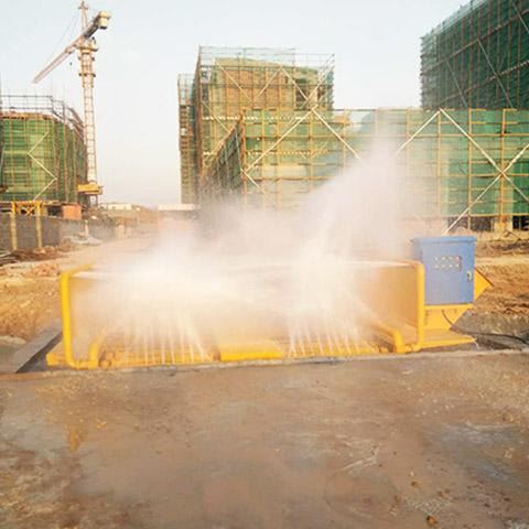 煤车冲洗设备防治扬尘好帮手-效果惊人-- 南京鲁科重工机械有限公司