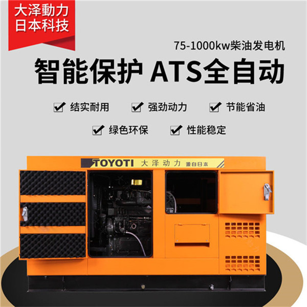 纯铜无刷静音100kw柴油发电机组-- 上海豹罗实业有限公司